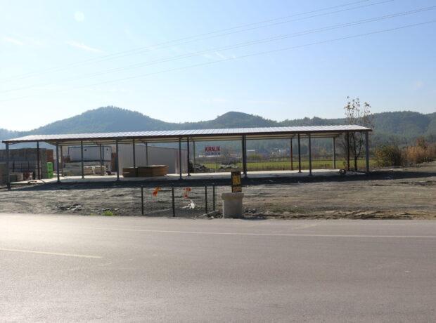 Muğla Seydikemer çevre yolu Uğurlu Kavşağında kiralık 440 m2 depo