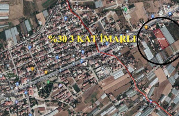 Fethiye Şehir Merkezinde Satılık İnşaat Ruhsatlı Arsa