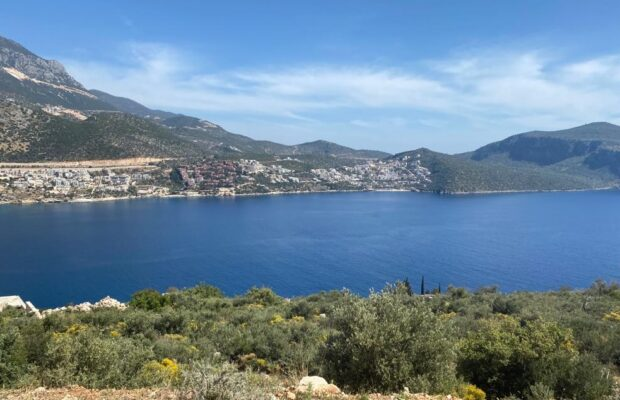 Kalkan' da Full Deniz Manzaralı %20 2 Kat İmarlı Arsa (-1-)