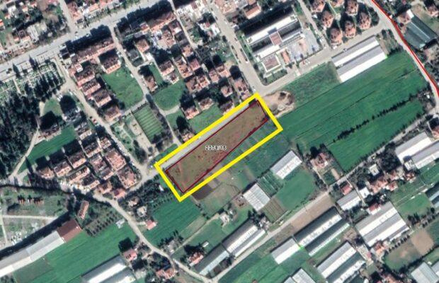 Fethiye Merkezde 1/10 Hisseli 508,36 m2 İmar Sınırında Arsa